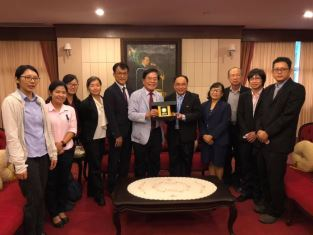 President of National Pingtung University, Taiwan (R.O.C) visited Maejo university